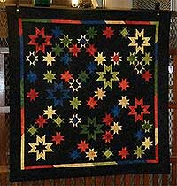 Stars on the Tarmac Quilt Kit